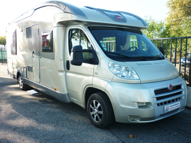 B rstner ixeo plus it 724 2010 camping car profil occasion 38900 camping car conseil - Camping car profile lit central occasion ...