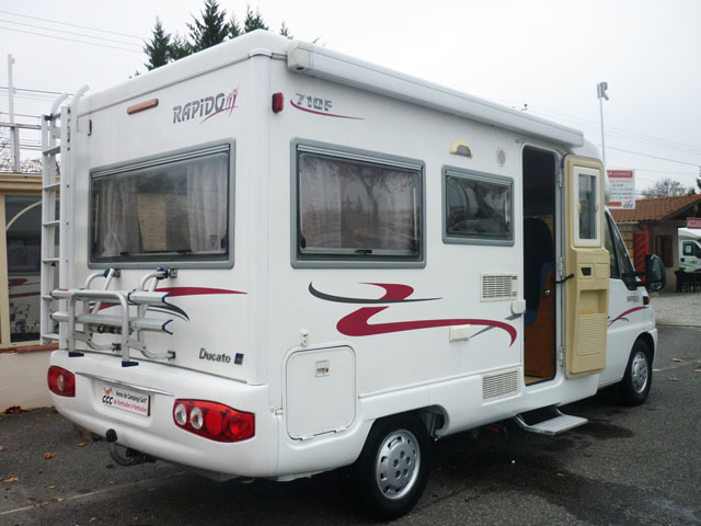 Rapido 710f 2003 camping car profil occasion 22500 camping car conseil - Salon camping car bruxelles ...