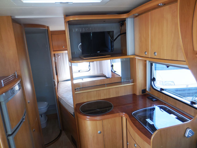 hobby t 600 fc 2007 camping car profil occasion 23900 camping car conseil. Black Bedroom Furniture Sets. Home Design Ideas