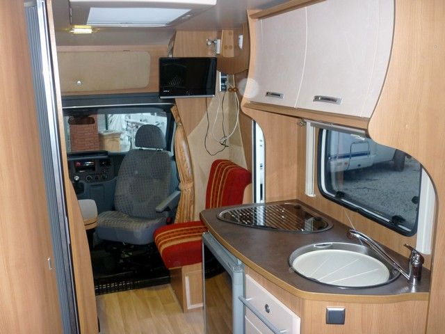 Challenger genesis 42 2010 camping car profil occasion - Camping car profile occasion lit central ...