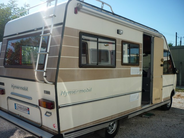 hymer hymermobil 1987 camping car int gral occasion 8000 camping car conseil. Black Bedroom Furniture Sets. Home Design Ideas
