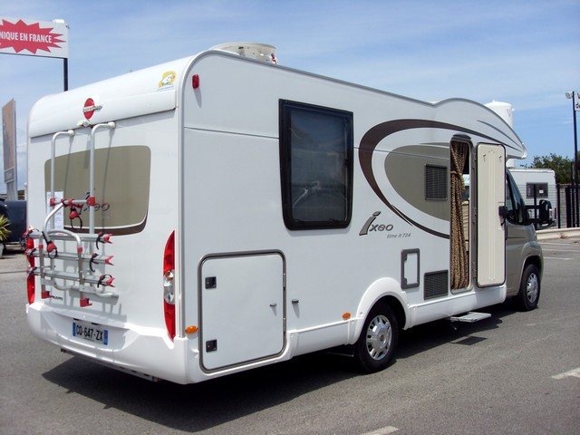 B rstner ixeo time it 734 2013 camping car profil occasion 49900 camping car conseil - Camping car profile lit central occasion ...