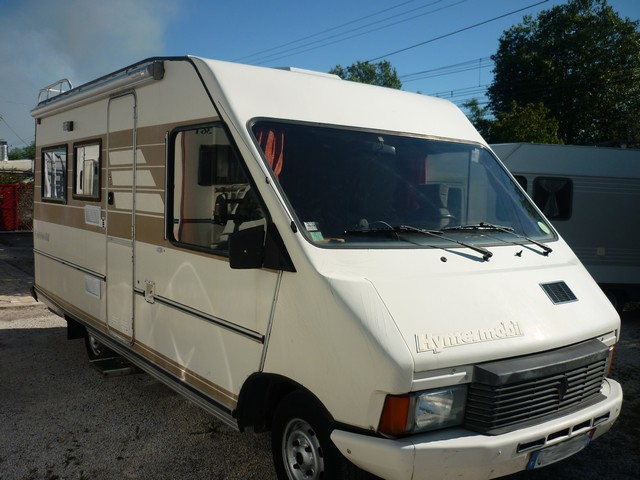 hymer camp 1987 camping car int gral occasion 5900 camping car conseil. Black Bedroom Furniture Sets. Home Design Ideas