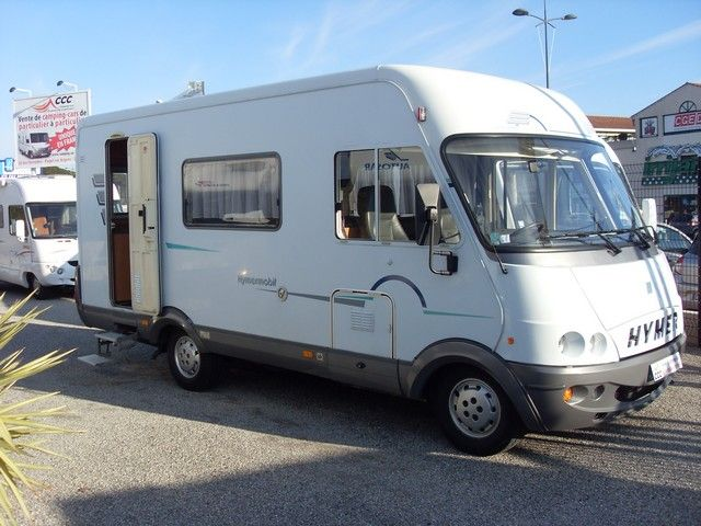 hymer b 544 2000 camping car int gral occasion 19500 camping car conseil. Black Bedroom Furniture Sets. Home Design Ideas