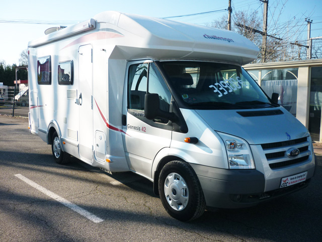 Challenger genesis 42 2011 camping car profil occasion - Camping car profile occasion lit central ...