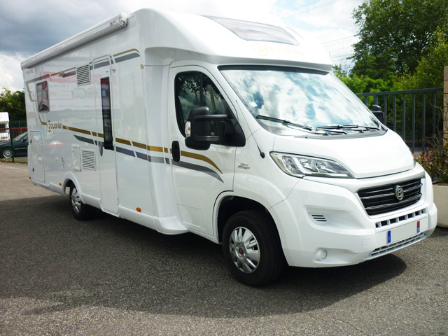 Bavaria t 746 c style 2015 camping car profil occasion 47900 camping car conseil - Camping car profile lit central occasion ...