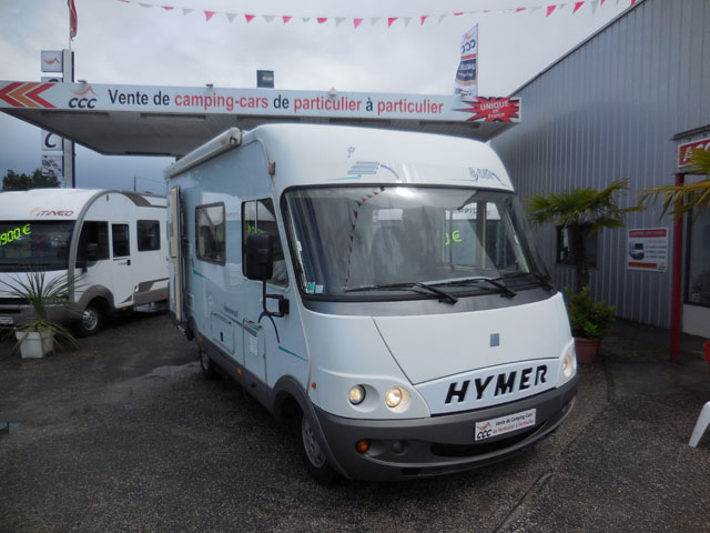 hymer b 584 2001 camping car int gral occasion 23800 camping car conseil. Black Bedroom Furniture Sets. Home Design Ideas